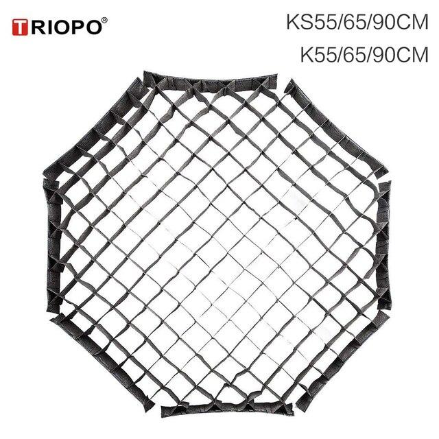 TRIOPO 55cm 65cm 90cm 120cm Honeycomb Grid for TRIOPO Foldable Softbox Octagon Umbrella Soft box (Grid Only)