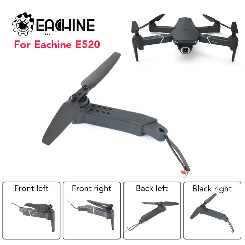 Original Eachine E520 Grey Ax Is Arm With Motor With Propeller WiFi FPV RC Drone Quadcopter Spare Parts