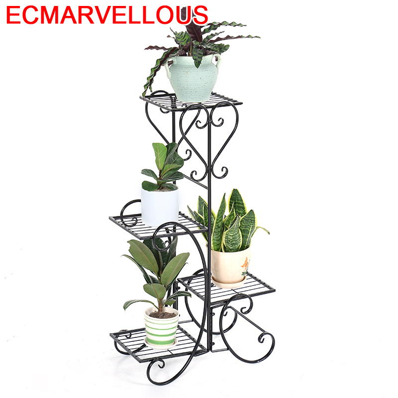 Terrasse Decoration Support Pour Plante Mensola Porta Piante Balcony Flower Shelf Stand Balkon Plant Rack