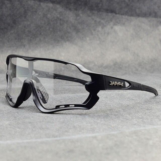Óculos fotocrômico esportivo de marca, óculos de sol mtb bicicleta de montanha lente para ciclismo ao ar livre 3