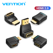 Vention HDMI Extender Male to Female 270 90 Degree Right Angle HDMI Converter Adapter Coupler for Monitor TV PS4 HDMI Connector