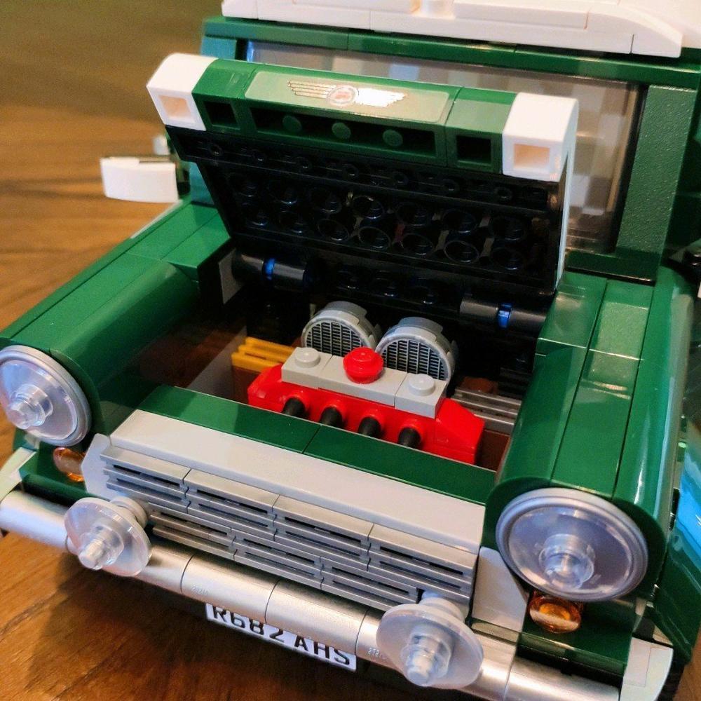 21002 1108pcs Creator MINI Cooper Model Building Blocks Bricks Toys 10242