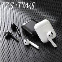 Apple original marca i7s TWS auricular inalámbrico Bluetooth 5,0 auriculares sport auriculares con micrófono para teléfono inteligente Xiaomi Samsung Huawei LG Air I7