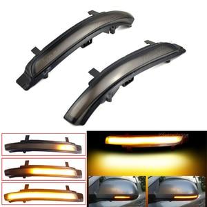 Image 2 - Dynamic LED Turn Signal Blinker Mirror Flasher Light Sequential Lamp For Skoda Octavia 2009 2013 SUPERB 2008 2014