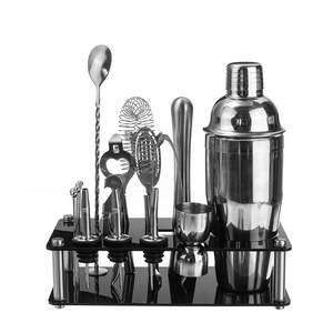 Supplie Stand Bar-Set Shaker Cocktail-Shaker-Set Wine-Bar Drink-Mixer Stainless-Steel