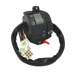 Image 5 - LMoDri 7/8 22mm Handlebar Motorcycle ATV Switches Headlight Fog Light Turn Signal Horn High/Low Beam Button in 1 Multi Switch