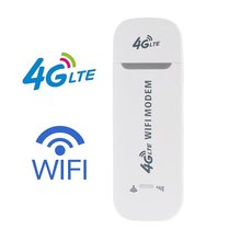4G GSM Lte Usb Wifi Modem Dongle Car Router Network Adaptor With Sim Card Slot USB Car Portable WiFi