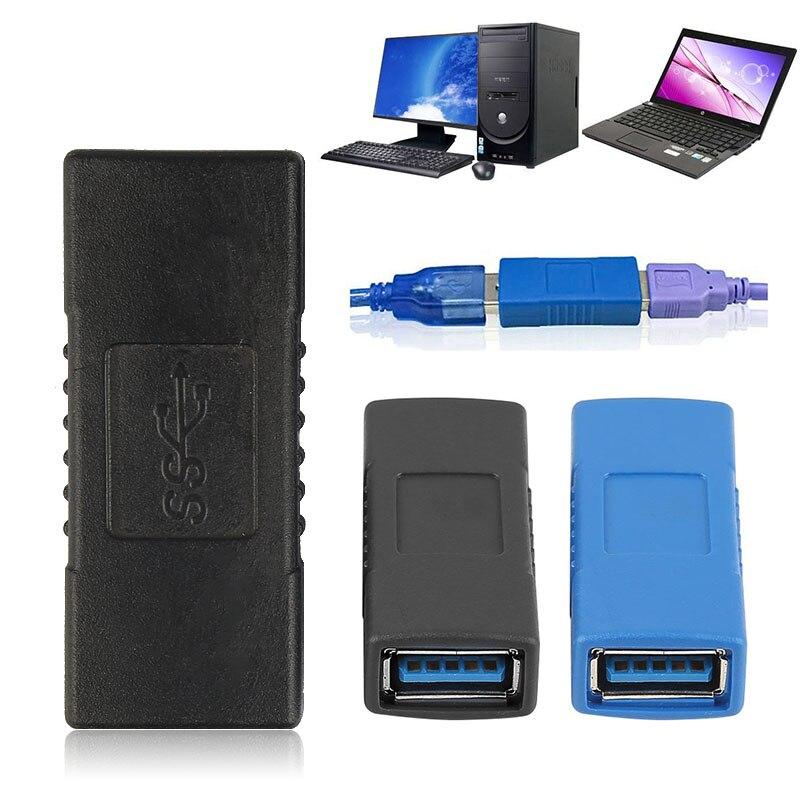 Женский переходник USB 3,0 для ПК, компьютера, ноутбука, USB кабель