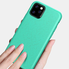 Simple Phone Case for IPhone 11 Pro XR X XS Max Luxury Soft Silicone Candy Colors Cover Coque