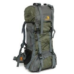 60L Internal Frame Outdoor Camping Backpack Waterproof Travel Hiking Bag For Female male Trekking Mountaineering Backpacks