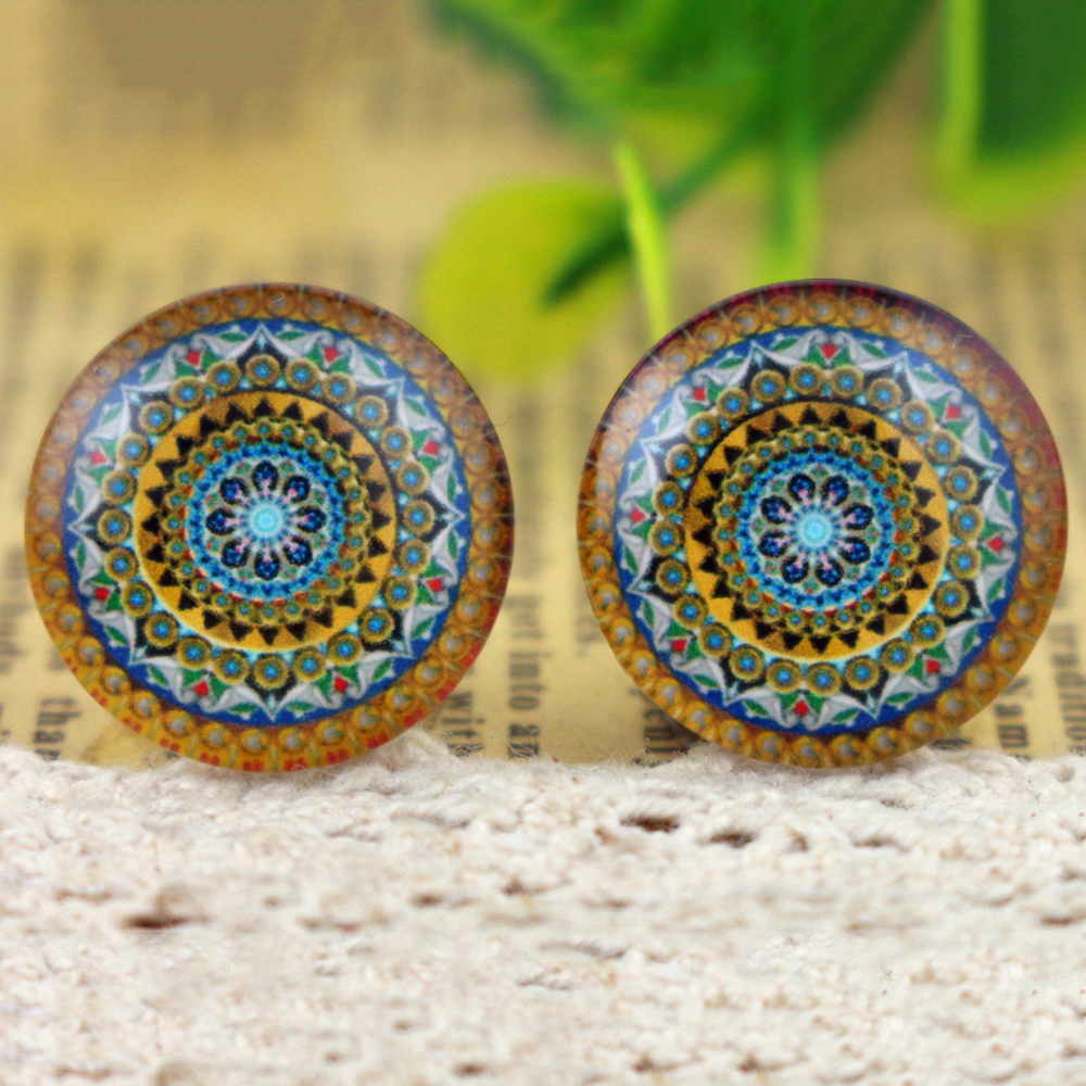 Hot Sale 10pcs 20mm Handmade Photo Glass Cabochons  (H2-46)