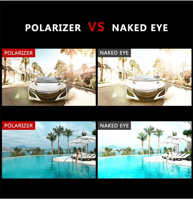 Gafas de Sol polarizadas y cuadradas para hombre, lentes de sol masculinas a la moda, estilo cuadrado con gradiente, adecuadas para conducir, diseño vintage de marca, 2020 5