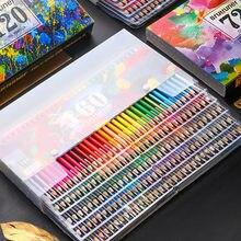 Aquarela lápis de madeira colorido conjunto de lápis lapis de cor pintura presentes para crianças arte escola suprimentos água cor lápis
