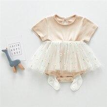 Baby Girl Dress Newborn Summer Princess Baby