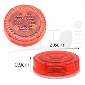 Image 5 - 1X Red Magnetic Wireless LED Car Door Opening Warning Lights Waterproof Strobe Flashing Anti Rear end Collision Led Safety Lamps