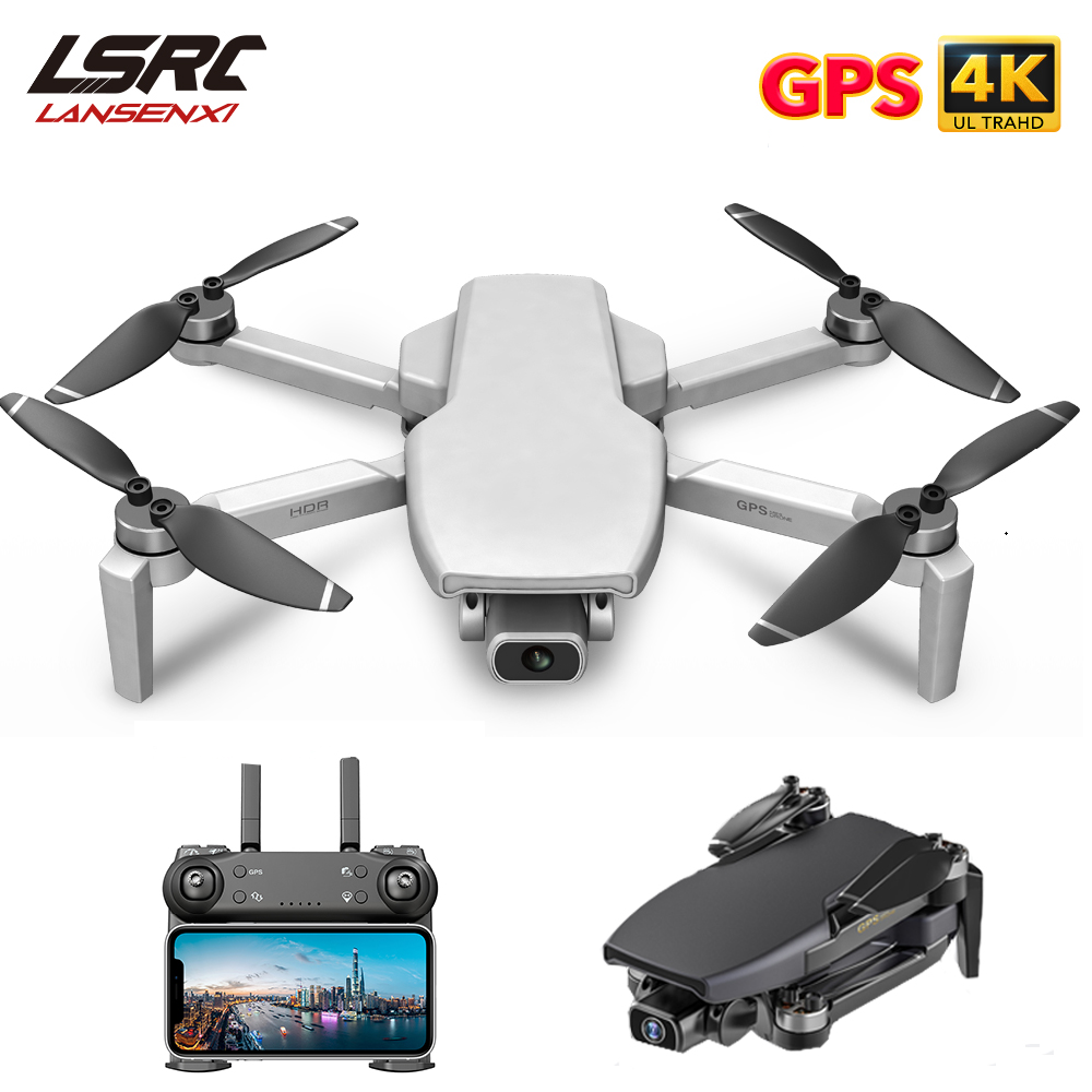 Permalink to LSRC Mini Drone GPS L108 4K HD 5G WiFi Brushless Motor FPV Dron flying 25 Minutes distance RC 1km RC Quadcopter VS EX5 drone