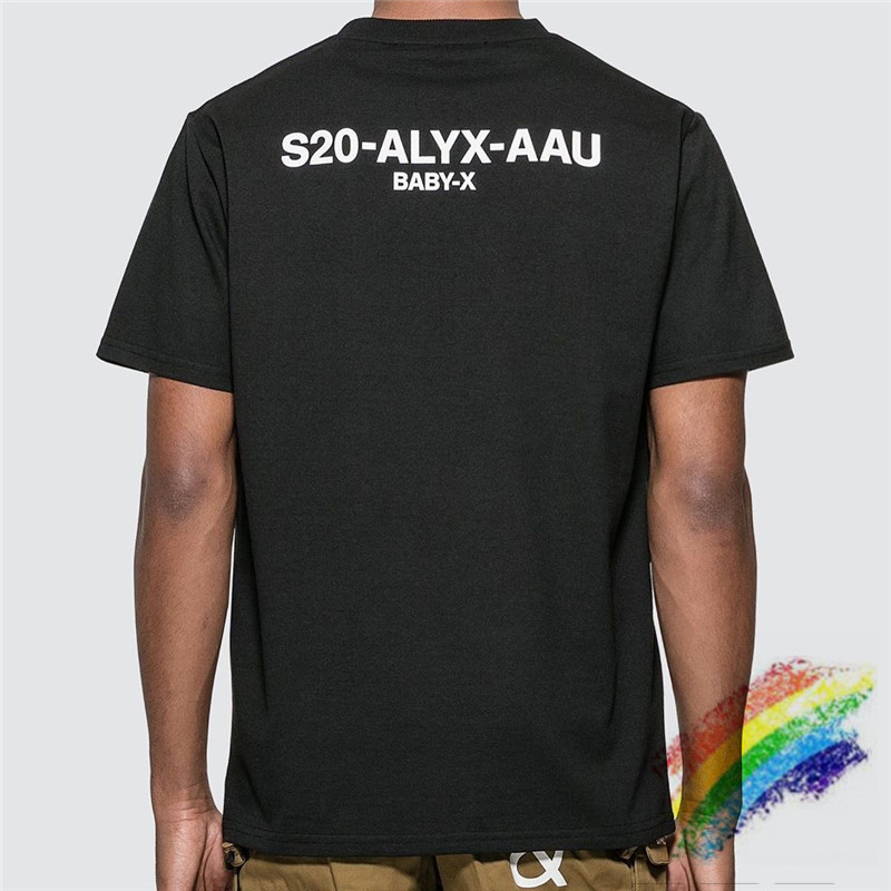 2020ss ALYX T-shirts Women Men 1:1 High Quality Summer Style Hip-hop ALYX T Shirts