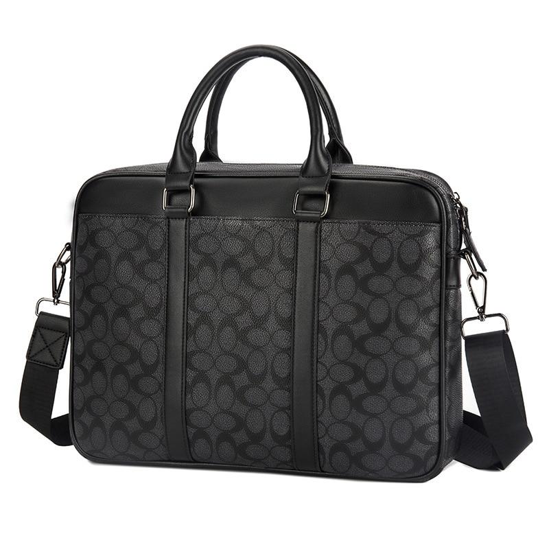 2019 Laptop Bag Large Capacity Business Travel Briefcase Fits 14 Inch Computer Tablets Notebook For Men Handbag Plaid Bag