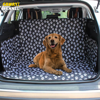 CAWAYI KENNEL Pet Carriers Dog Car Seat Cover Trunk Mat Cover Protector Carrying For Cats Dogs transportin perro autostoel hond 1