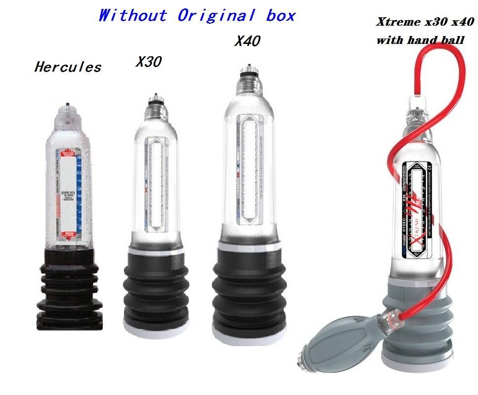 Pump Set Enalarge Hercules X20 X30 X40 Xtreme Water Spa Pump Therapy Enlarge Pump Pe-Nis Vacuum Water PEn-is Enlargment Pump