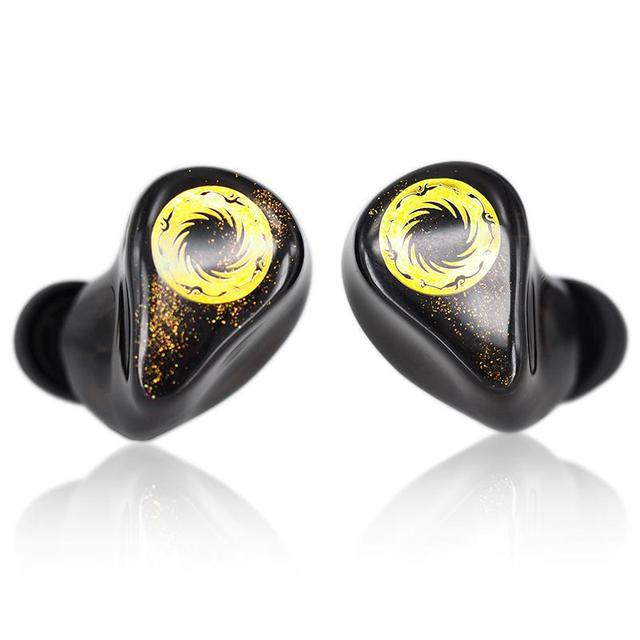 MoonDrop Solis 2EST+4BA Hybrid Drivers HiFi Music Monitor DJ Studio Stage In-Ear Earphone with Detachable Cable  Earbuds 5