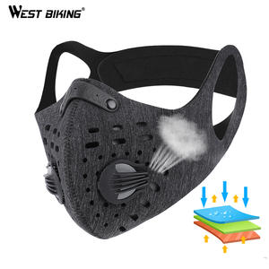 Cycling-Mask Dust-Mask ACTIVATED-CARBON-FILTER Road-Bike West-Biking Training Anti-Pollution