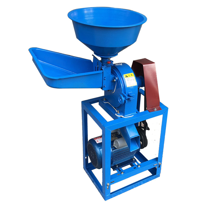 Corn Food Grinder Small Household 220v Feed Grains Grains Pepper Wheat Beans Flour Milling Machine Speed Adjustable