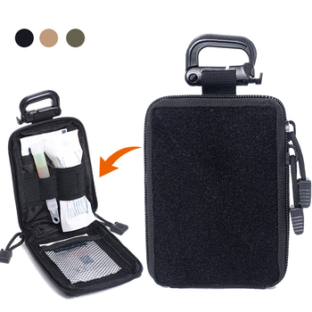 цена на 1000D Tactical First Aid Pouch Outdoor Medical Molle Bag Hunting Survive Kits Military Emergency Pack EDC Tool Bag for Camping