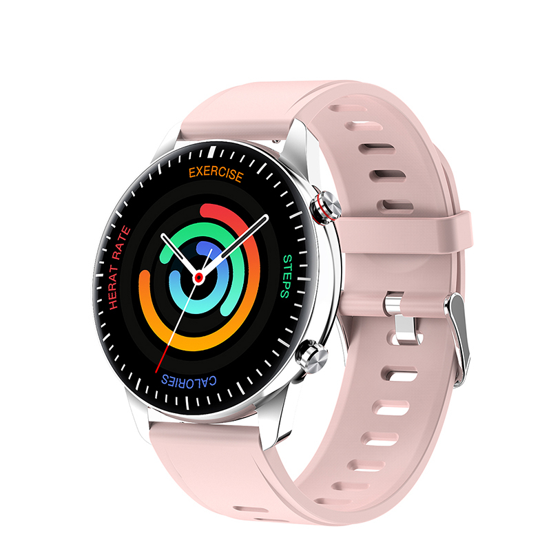 Pink-Silicone Strap