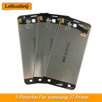 3 piece/lot J7 Prime LCD For samsung J7 Prime Display touch screen Digitizer Assembly For samsung J7 Prime G610 G610M Screen