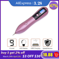 LCD Plasma Pen LED Lighting Laser Tattoo Mole Removal Machine Face Care Skin Tag Removal Freckle Wart Dark Spot Remover 1