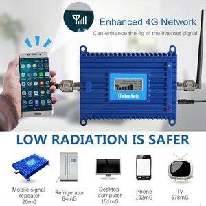 Image 3 - Lintratek 4G 700 טלפון אות מהדר מגברי LTE 700Mhz Band28 מאיץ סלולארי AGC 70dB LTE נייד מגבר עבור אירופה