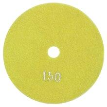 5 pouces 125mm diamant humide tampons de polissage marbre granit grains 150