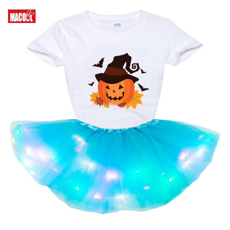 Купить вечерние платья для детей девочек костюмы на хэллоуин футболка