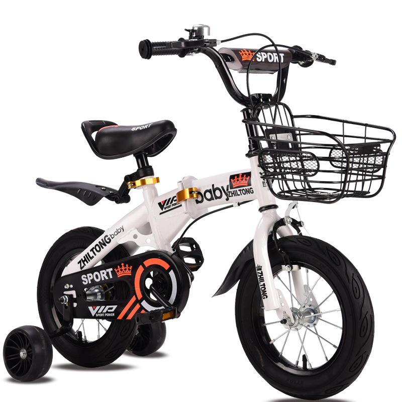 Kid Folding Bicycles12/14/16/18 Inch Portable For Boys And Girls Cycling Light Students Bike Children's Gift