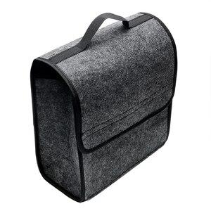 Image 2 - Auto Opbergtas Kofferbak Organizer Box Vouwen Auto Rear Opslag Pouch Auto Styling Accessoires Opbergen Opruimen Seat Back Bag