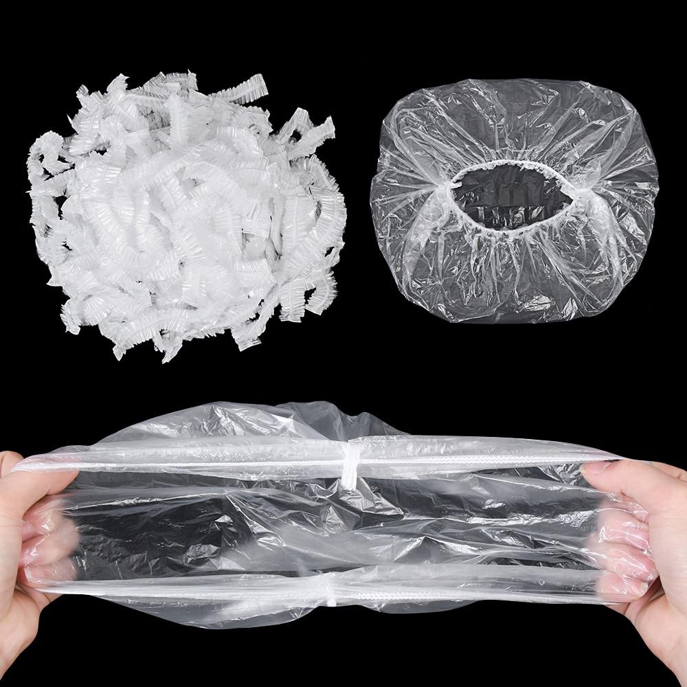 100PCS Reusable Durable Lebensmittel Lagerung Abdeckungen für Schalen Elastische Platte Silikon Deckel Abdeckungen Vakuum Taschen Für Küche Lebensmittel Frisch dichtung