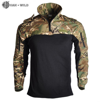 Us Army Clothing Tactical Combat Shirt Military Uniform Tatico Tops Airsoft Multicam Camouflage Hunting Fishing Clothes Mens 10