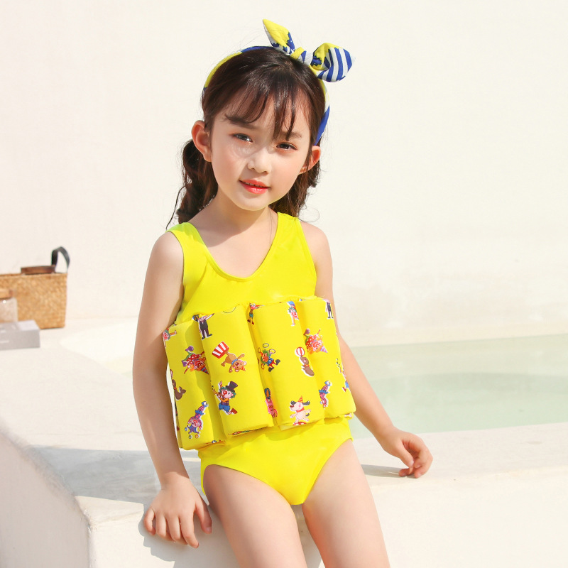 CHILDREN'S Buoyancy Swimsuit Baby CHILDREN'S BOY'S GIRL'S Girls BABY'S Bathing Suit One-piece Floating Bathing Suit Swimwear