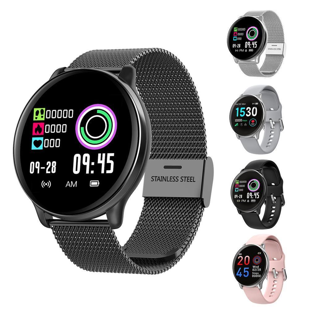 Wodoodporny krokomierz inteligentna bransoletka fitness tracker zdrowie zegarek pulsometr IP68 Bluetooth kobiety mężczyźni zegar liczy kroki