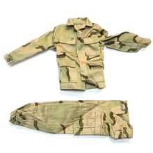 New 1/6 Scale Accessories Clothes Soldier Desert Uniforms set For 12 Military Action Figure