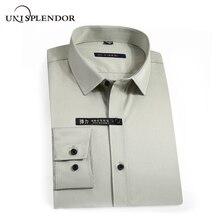 2020 koszule męskie wiosna jesień nowy nabytek Slim Fit koszula męska z długim rękawem brytyjski styl bawełniana koszula męska znosić YN10383