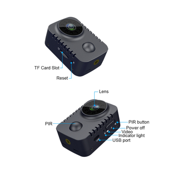 PIR Motion Detective Night Vision Camera 6