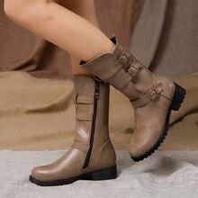 Новинка года; Модные женские ботинки; зимняя женская обувь; плюшевые теплые высокие сапоги до середины икры; Роскошные Лоскутные туфли на плоской подошве; повседневные женские зимние ботинки