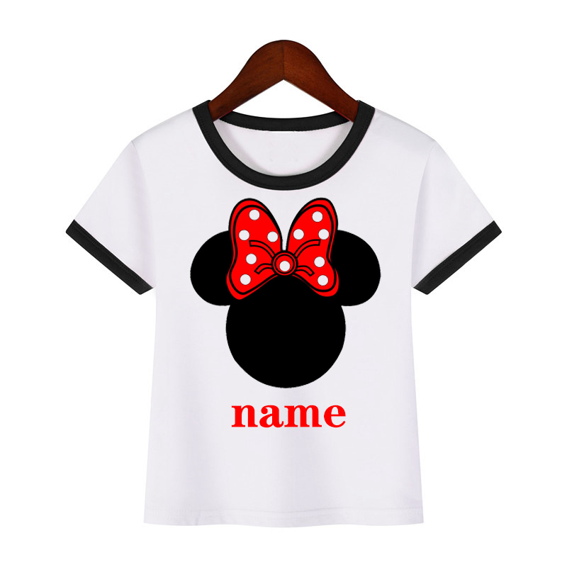 Boys S Mickey Personalized Print