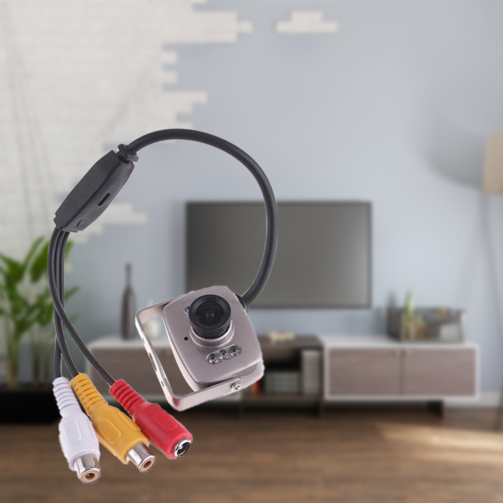 HD Wired Mini Camera Security Wired Camera With Color Lens Infrared Video Recorder Home For Home Office Computer Portable 2020