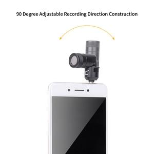 Image 3 - COMICA CVM VS07 Mini yönlü mikrofon GoPro DSLR kamera sabitleyici için Mic Video kayıt (3.5mm TRRS)
