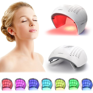Image 1 - 7 Colors PDT Led Light Therapy Facial Mask Skin Rejuvenation Photon Device Spa Acne Remover Anti Wrinkle Red Light Skin Care