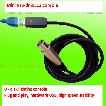 MIMI USB-DMX512 Console USB to DMX Interface Adapter DMX512 Computer Stage Lighting Controller Dimmer Usb Led Dmx512 Interface free shipping usb to dmx interface adapter led dmx512 computer pc stage lighting controller dimmer for dj ktv party
