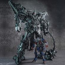 Transformacja WJ Grimlook aluminiowy Film Film Oversize powiększony SS07 dinozaur lider starożytny figurka roboty zabawki prezenty